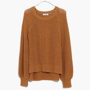 Madewell Balloon-Sleeve Pullover Sweater